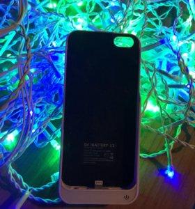 Чехол зарядка на айфон 5 (5s)