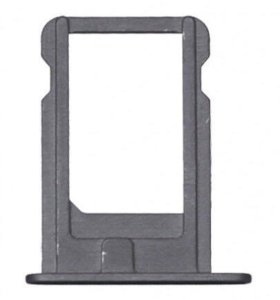 Лоток для симкарты IPhone 5s space grey