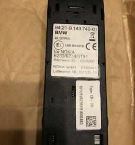 Адаптер в подлокотник для телефона в BMW e60/61/63