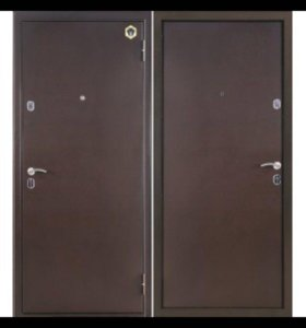 Установка металл дверей