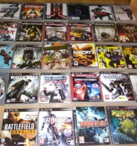Игры на ps3 PlayStation 3 пс3 диски вторая часть