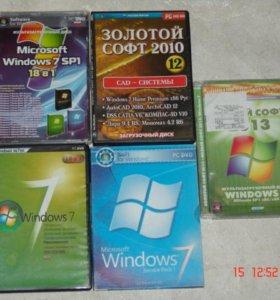 Windows ЗАГРУЗОЧНЫЕ И УСТАНОВОЧНЫЕ ДИСКИ