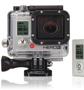 В аренду Экшн-камера GoPro HD hero3 Black Edition