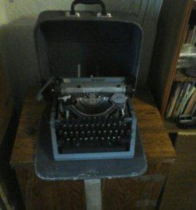 Машинка механическая печатная