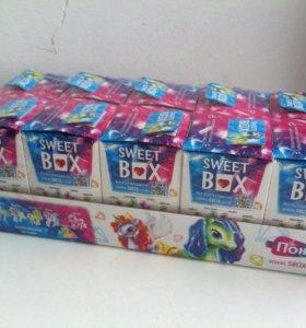 Свит бокс кристальные лошадки sweet box