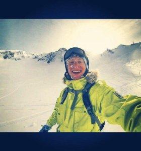 Инструктор по горным лыжам, гид