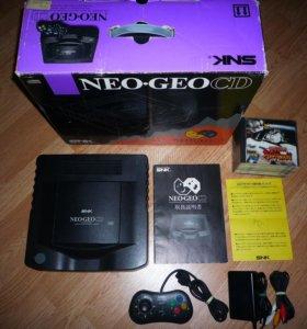 Neo Geo CD в коробке + 9 Игр (почта есть)