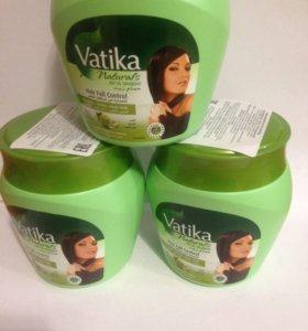 Маска для волос Vatika - Garlic, Cactus 500гр