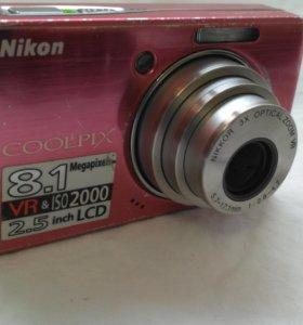 Фотоаппарат Nicon Coolpix S510