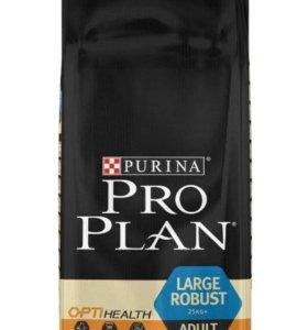 Корм Pro Plan 13и18кг для крупных собак с курмцей
