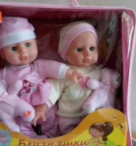 Близняшки - набор кукол