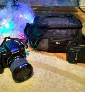 Зеркальная камера Sony Alpha A-200