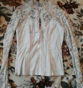 Продам блузку сделанную под корсет