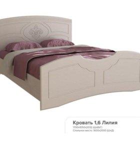 Новая кровать от спальни Лилия