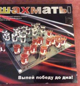 Подарочный набор шахмат стопки