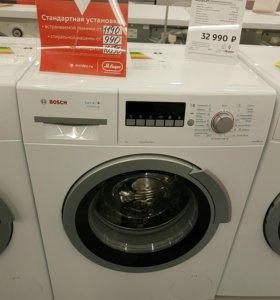 Новая стиральная машина Bosch