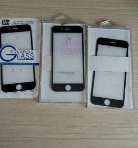 Защитные стекла на iphone 6