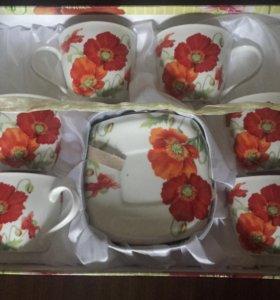Новый Чайный набор-сервиз. Торг при осмоте