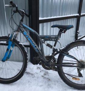 Велосипед(двух-подвес)