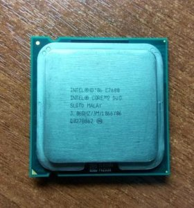 Intel Core 2 Duo Е7600 LGA 775 (3.06Ghz/3M/1066)