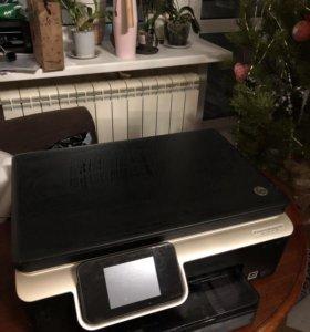 Hp принтер , но работает только как сканер
