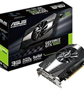 Видеокарта ASUS PH-GTX1060-3G GeForce GTX 1060 3Гб