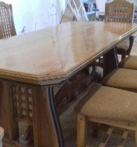 Изготавлием столыи стулья