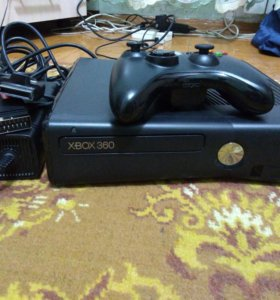 Xbox360e +кинект+9игр