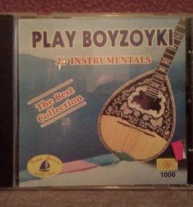 CD-диск национальной греческой музыки