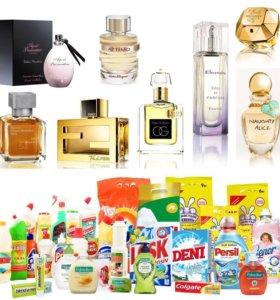 Бытовая химия , косметика, парфюмерия