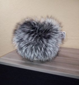 Зимняя шапка из чернобурки