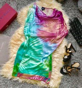 Платье Roberto Cavalli шёлк