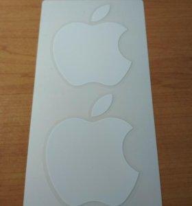 Оригинальные наклейки Apple