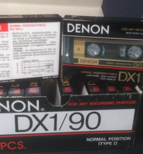 Продам аудиокассету Denon DX1 90 made in Japan.