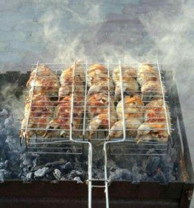 Мясо домашней птицы, кроликов.