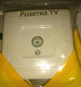 Розетка TV
