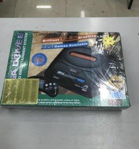Sega Mega Drive 2 (368 встроенных игр)