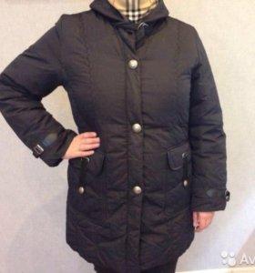 Куртка - пальто зимняя женская на пуху
