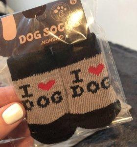 Носочки для мелких пород собак