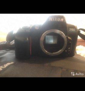 Nikon f60 пленка