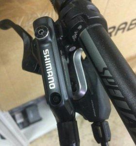 Тормоза Shimano Deore и манетки SLX М7000 11 ск