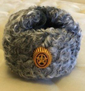 Сувенирные шапки из натурального меха