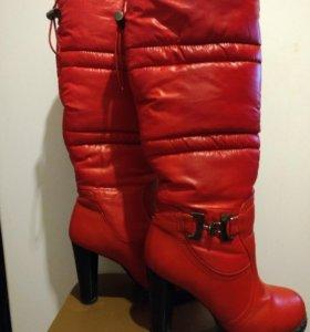 Зимние сапоги 35 размер