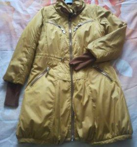 Пальто утеплённое 44 р-р