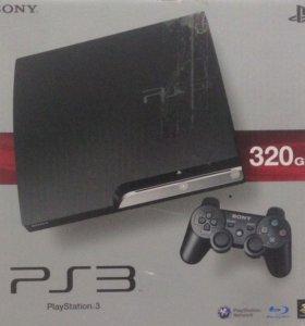 Продаю SONY PS-3 Slim 320Gb