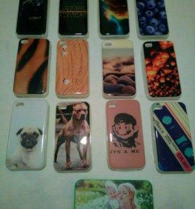 Чехлы новые на Iphone 4/4S
