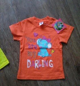 2 футболки НОВЫЕ