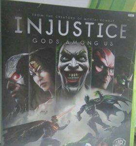 Игра xbox360 Injustice или обмен в описании