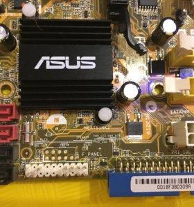 Материнская плата ASUS +процессор INTEL