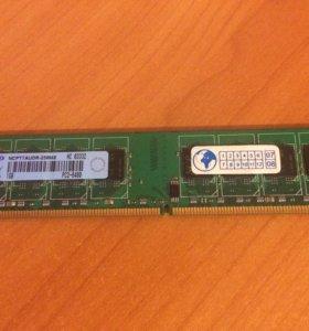 Память DDR2, 1Gb, 800mhz
